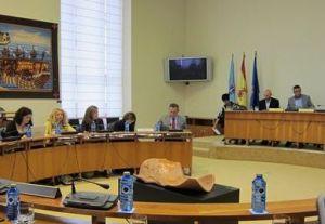 Sala de Comisións do Parlamento de Galicia