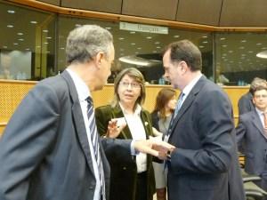 Rosa Quintana defende os intereses de Galicia en Europa