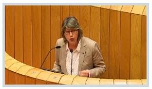 Rosa Quintana no Parlamento